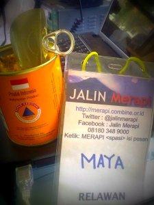 Relawan Jalin Merapi